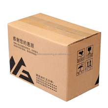 3-7 LAYERS HARD DUTY CORRUGATED PAPER PACKING BOX WITH CUSTOM LOGO PRINTING FOR MOVING WHOLESALE IN CHINA