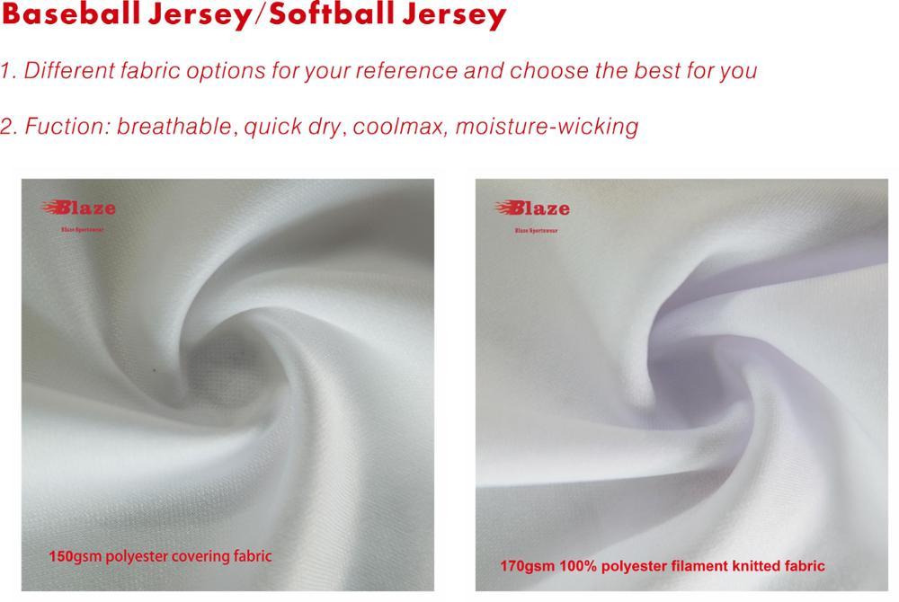 Custom sublimatie 100% polyester camo baseball jersey 5xl