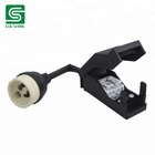 VDE Certified GU10 Ceramic Halogen Lamp Holder with Junction Box/ Lamp Socket with Automatic Clip