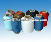 Polyester/spandex Covered Yarn