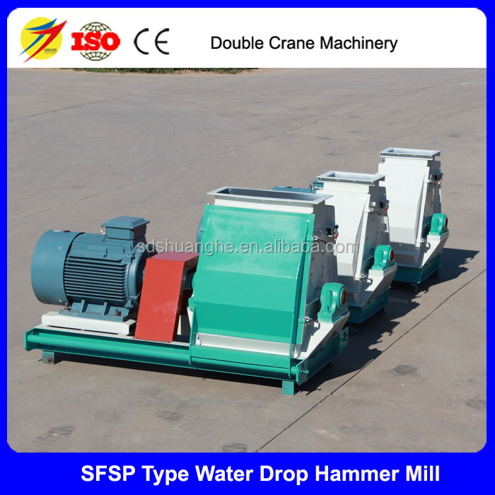 Homemade hammer mill chicken food processing machine