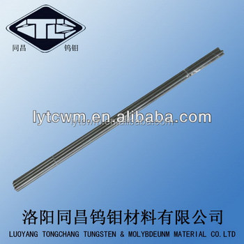 99.99% Custom-made Pure Polished Tungsten Bar For Sale. Iso9001 ...