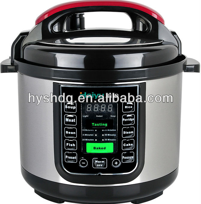 2014 Factory Price Electric Pressure Cookers Hot Selling In Southeast Asia Middle East And Rusia