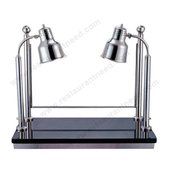 2017 Hot Sale Kitchen Equipment Dual Buffet Heat Lamp For