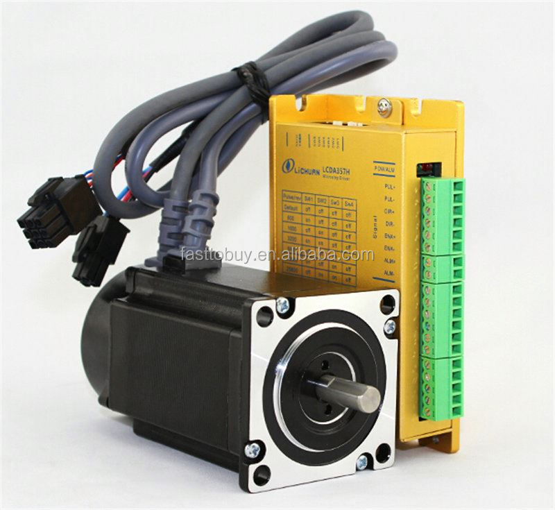 24v 2NM 3.5A 3PH NEMA23 57mm close loop stepper motor driver kit