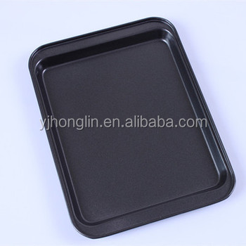 24 18 1 8cm Stainless Steel 8 Inch Square Pizza Tray Microwave Oven Cake
