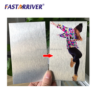 brushed silver heat transfer printing aluminum sublimation metal sheet