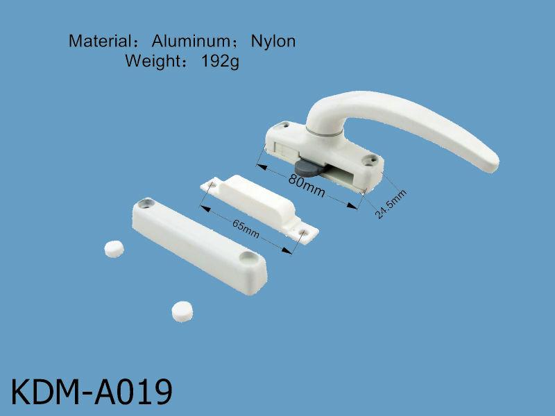Aluminium zinc poign e de fen tre coulissante poign e for Poignet porte fenetre