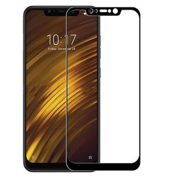 Pocophone F1 Screen Protector, [Anti-Scratch][Bubble Free] 9H Hardness 0.3mm Ultra Slim 3D Full Coverage Premium Tempered