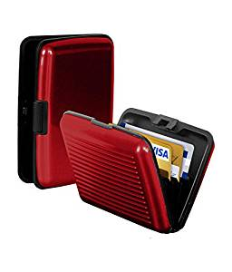 PURSHO Aluminium Security Wallet for Credit Card Debit Card ATM Card for Women