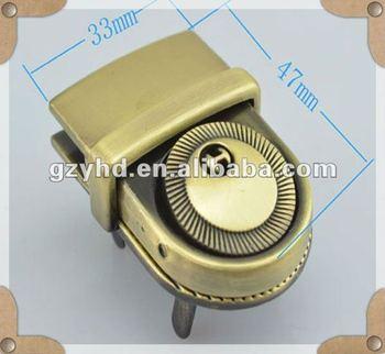 Metal Alloy Briefcase Lock Y1646