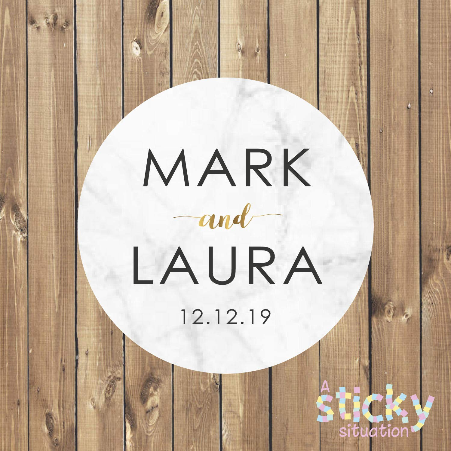 Cheap personalized wedding favor labels stickers find personalized