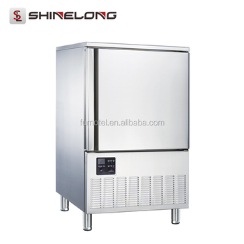 Good Price Commercial Restaurant Stainless Steel Upright Deep Blast Freezer 220L