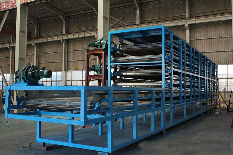 DW3-2-8B available continous vacuum dryer belt for plastic products