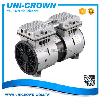 Uni-crown Ac Motor Mini Air Pump 220v Oilless Electric Vacuum Pump ...
