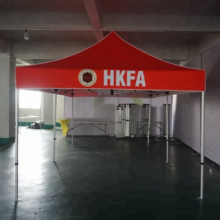 Full Color Print Outdoor Advertising Folding <strong>Tents</strong> For Events Popup Canopy Trade Show <strong>Tent</strong>