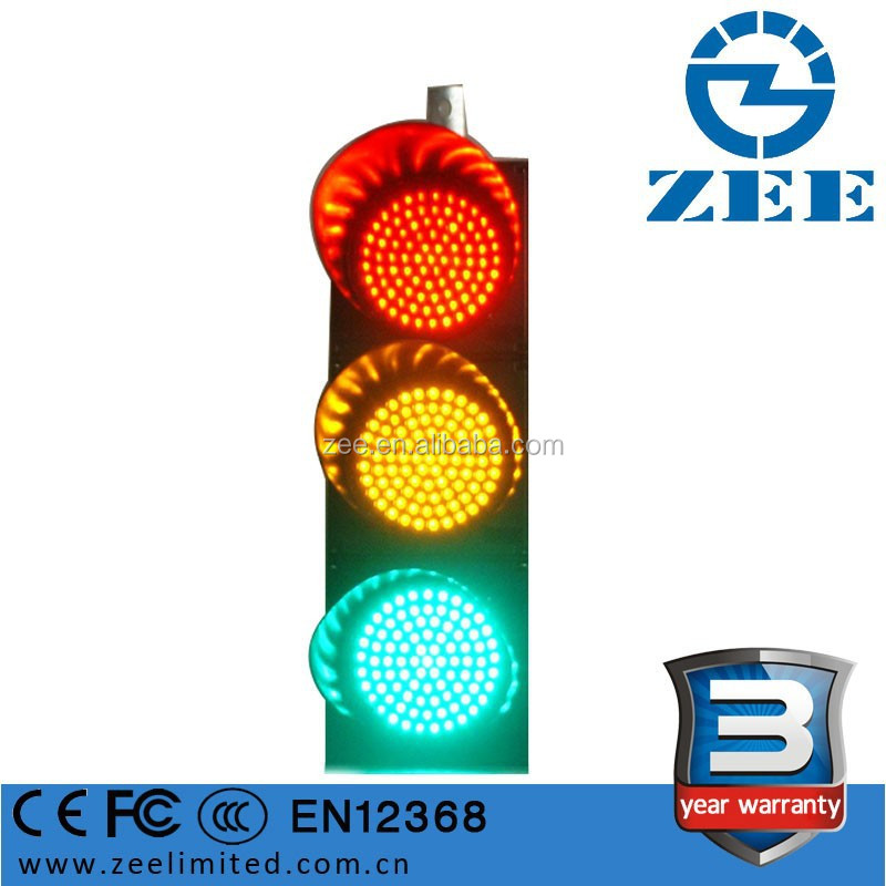 Electricity Supply 220V Traffic Signal Head Solar Supply Version Optional Red Yellow Green