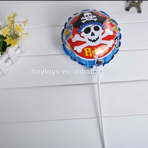 Pirate small self inflating mylar balloon