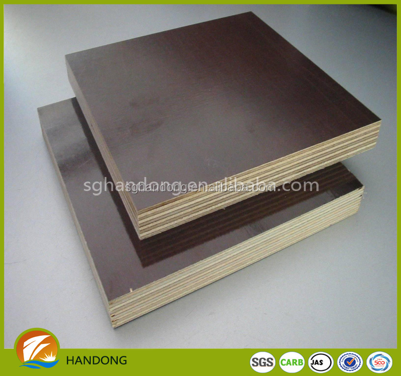 E2 glue furniture plywood with poplar/hardwood core of handong