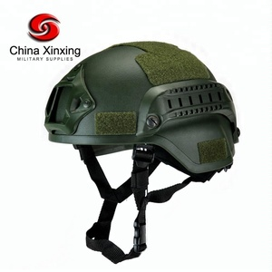 Xinxing aramid level iiia ballistic helmet tactical military motorcycle helmet 1.4kg with Sponge cushion ballistic helmet MH03