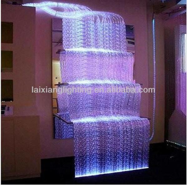 2015 Waterfall Fiber Optic Light CurtainCurtain For Wall Decoration