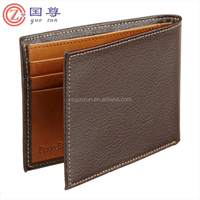 Men's Genuine Leather Thin Wallet /Men's Leather Slim Wallet