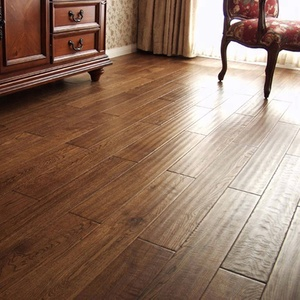 Smoked Oak Solid Wood Hard Wood Flooring Price