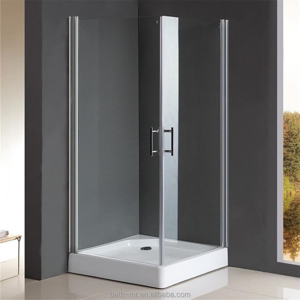 70x70 Frameless Mini Shower Enclosure - Buy 70x70 Frameless Shower ...