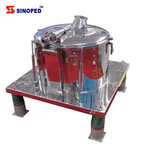 Automatic professional rotary industrial scale centrifuge continuous flow centrifuge