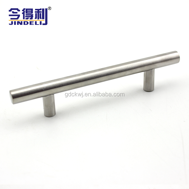 Full Size Furniture Door Handle SS Strong T Bar Solid Drawer Pull Handle