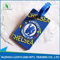 Unique Design Factory Price PVC Luggage Tags For Travelling