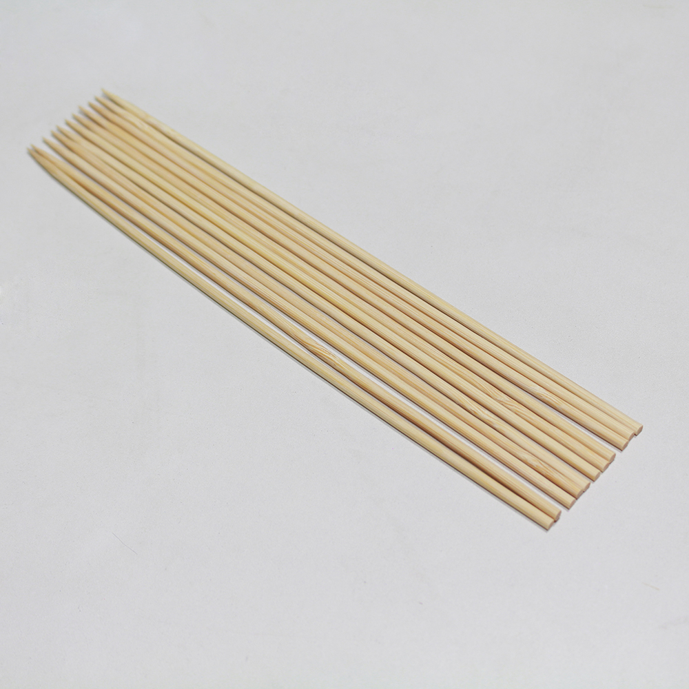 Natural healthy top sell bamboo skewer box for sale