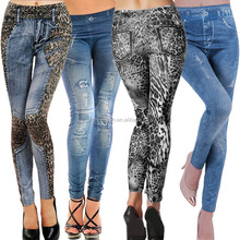 Sexy Neue <span class=keywords><strong>Frauen</strong></span> Jean Jeggings Stretchy Dünne Mode Skinny jeans