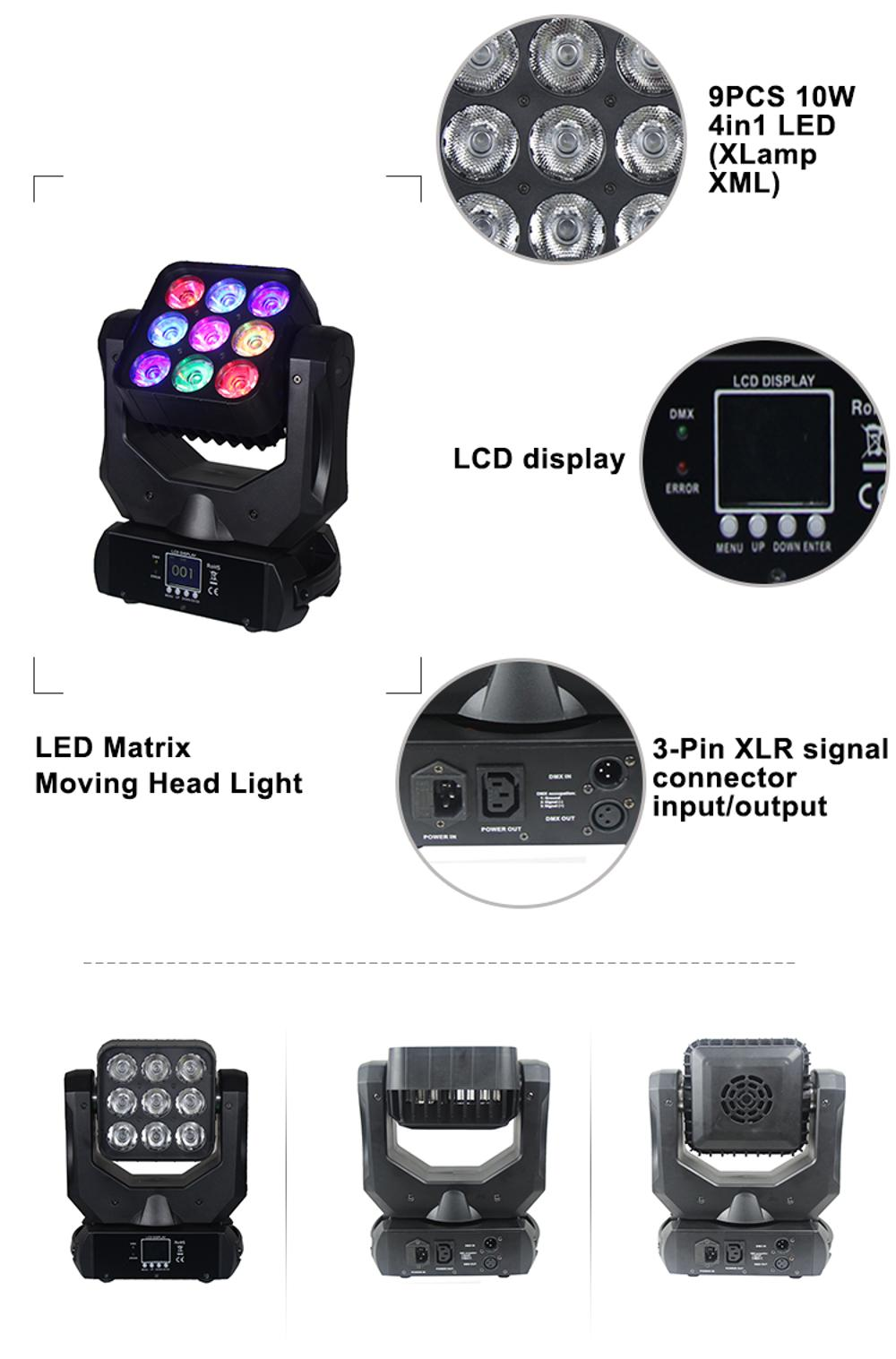 120W Moving Head Light