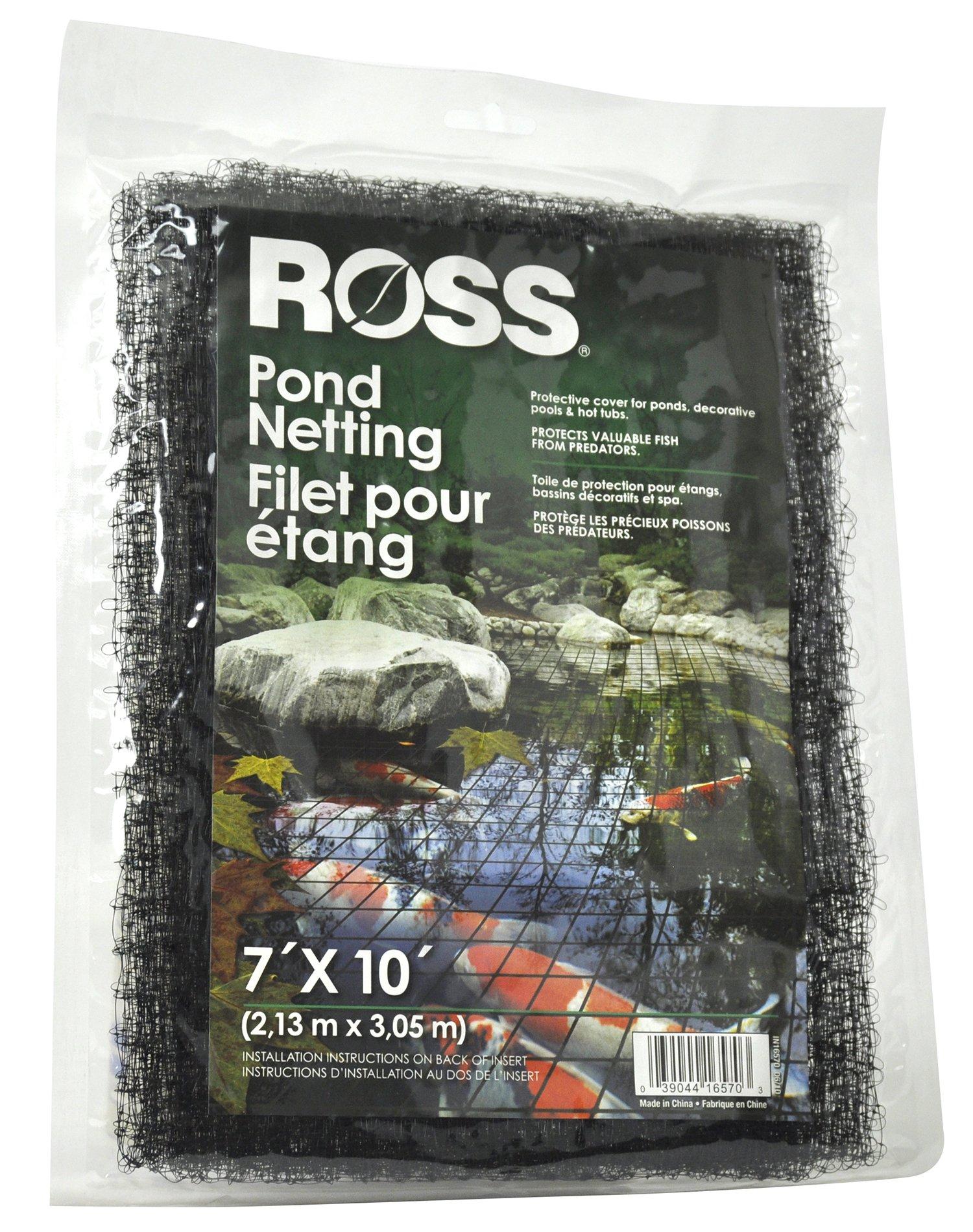 RainLeaf 7 x 10 Pond Netting Pool Protective Cover Netting,Pond Skimmer Net...