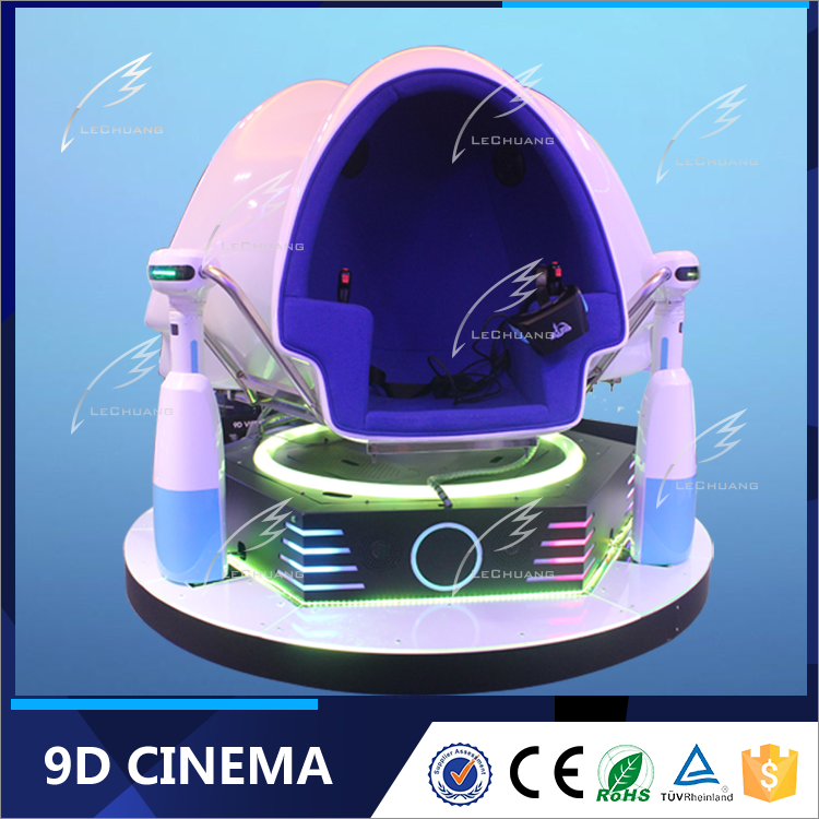 Used Advanced VR Cinema Equipment Theme Park 9D Cinema Movie Theater