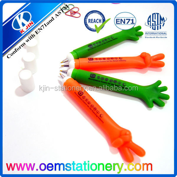 office supply rubber grip promotional ball pens/ballpoint pen wholesale