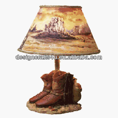 Cowboy Boots Bedside Lamp Western Style Buy Bedside Lamp