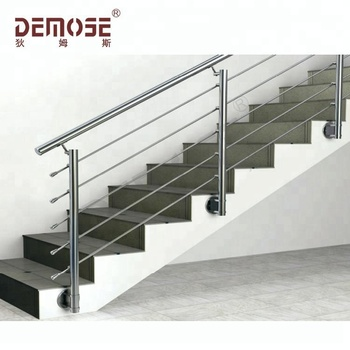 Side Mount Handrails Indoor For Stairs Simple Design Ss Railing