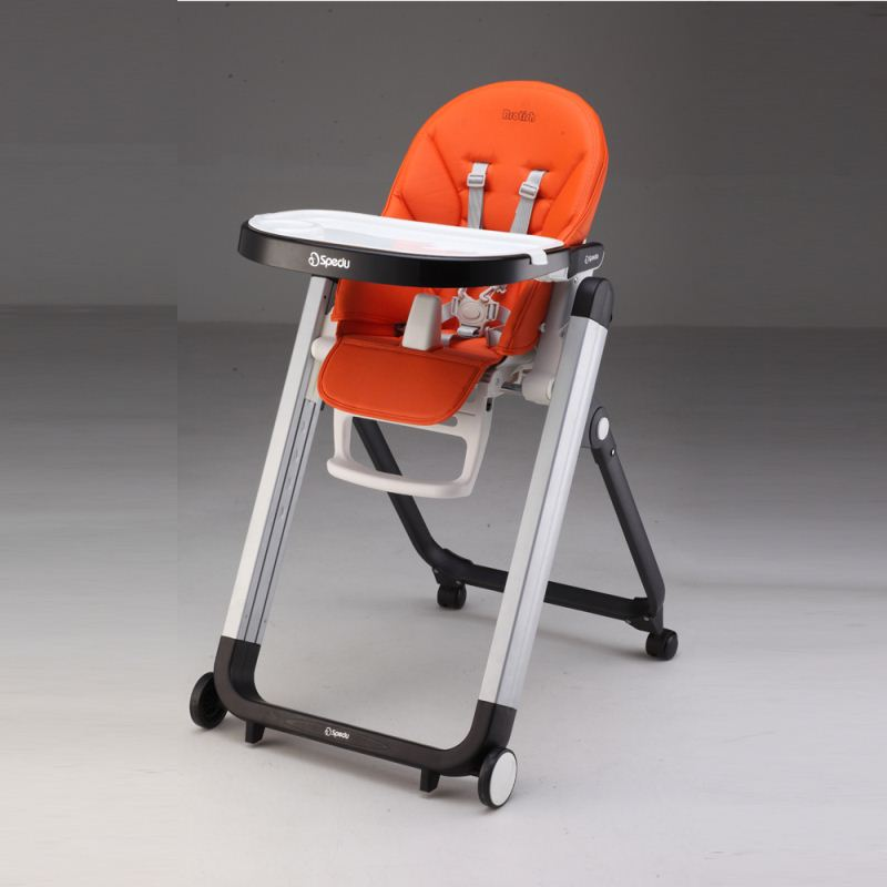 EN14988 Approved Baby Highchair Kids Folding Baby Chair For Baby Kids Plastic Feeding Folding Chair