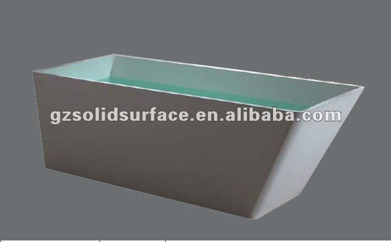 artificial stone bathtub --artificial marble bathtub--bathroom furniture