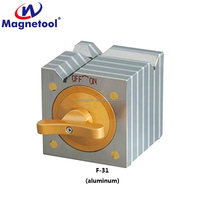 30kg 40kg 50kg square magnetic block with aluminium alloy filling