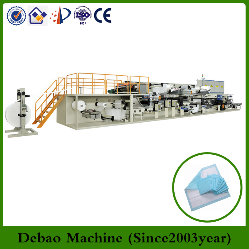 Pamper pet underpad making machine for small business