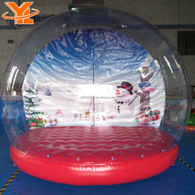 YL Inflatable Decorations, Giant Christmas Inflatable Halloween Snow Globe