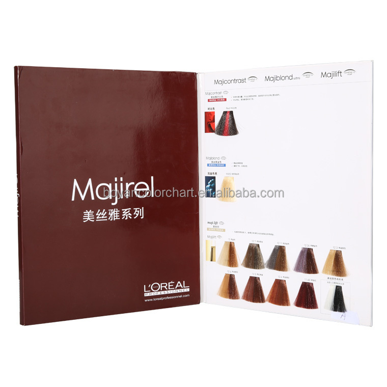 Manufacturer Hair Dye Color Chart Private Label Hair Color Chart