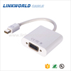 DP male to VGA Female converter/ Mini Displayport to VGA adapter