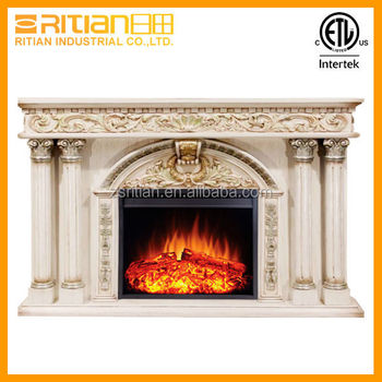Decorative Flame Wooden Fireplace Luxury Electric Fireplace Buy Wooden Fire