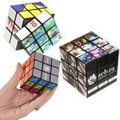 Rubik's 9-Panel Full Custom Cube 500 QUANTITY- $11.09 EACH /PROMOTIONAL PRODUCT / BULK / BRANDED with YOUR LOGO / CUSTOMIZED