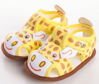 custom logo new summer baby handmade soft PU leather cute baby sandals  cheap baby shoes