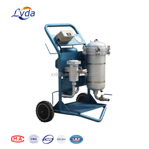 Oil purifier machine LYC-A100 for hydraulic and lubricating system